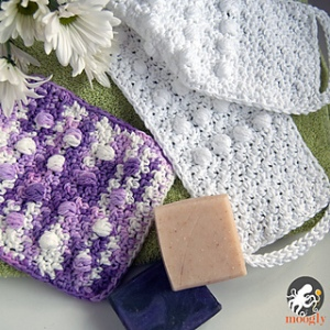 Pampering Massage Back Scrubber & Washcloth