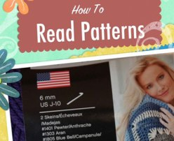 Learn To Read Crochet Patterns