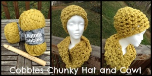 Cobbles Chunky Hat and Cowl